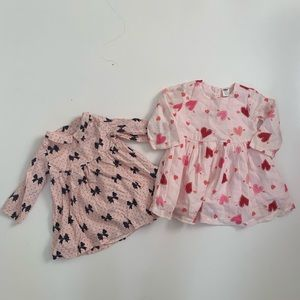 Baby Gap Old Navy Dresses 6-12 Months Pink